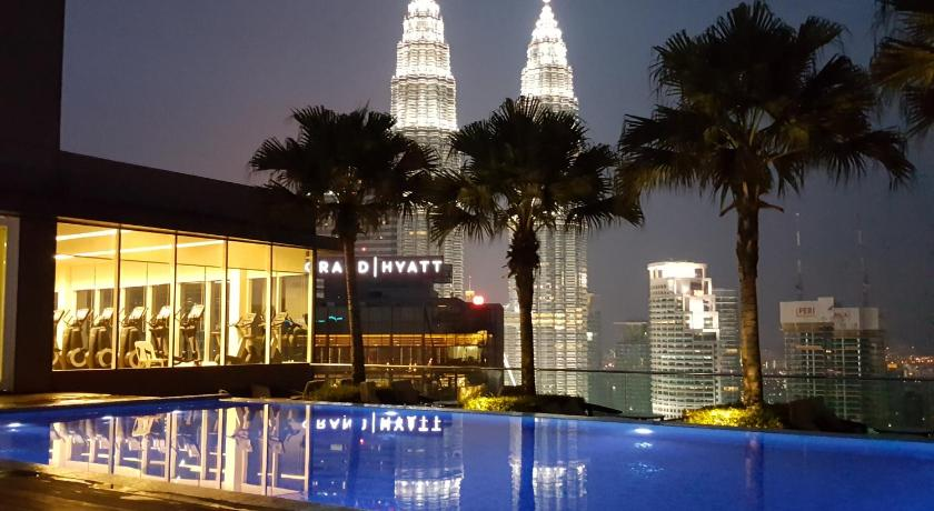 Vipod Roof Top Pool KLCC