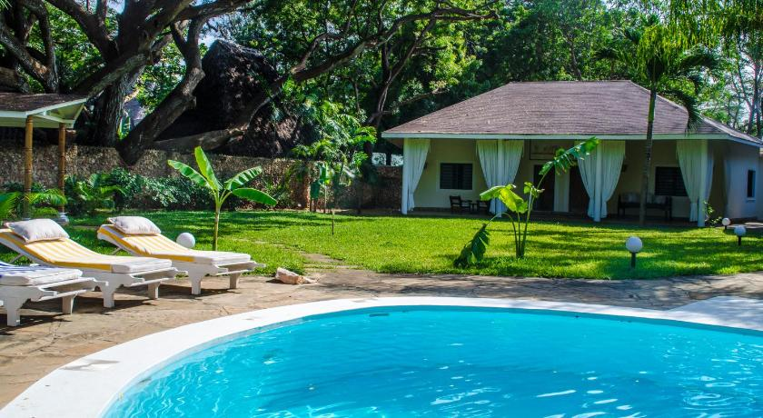 Bazén Maisha Tamu Luxury Boutique Resort