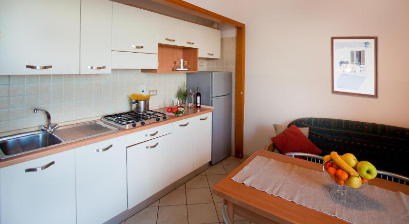 One-Bedroom Apartment with Balcony (2 Adults) Residence Sant'Anna
