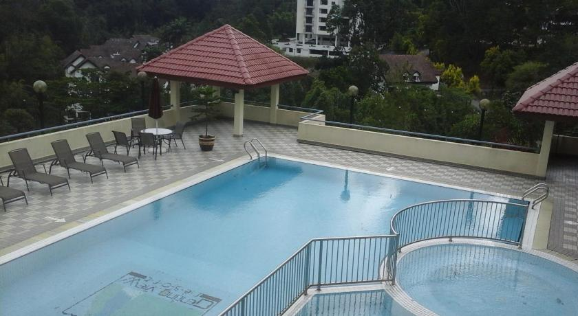 Schwimmbad Kempas Apartment, Genting View Resort