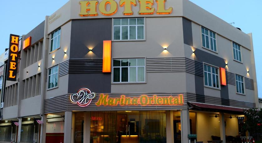 Butterworth Map And Hotels In Area Penang
