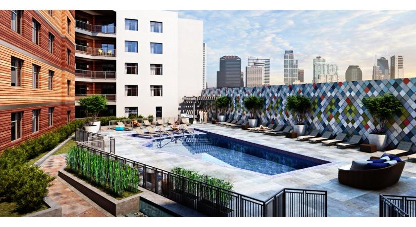 See all 24 photos Two Bedroom Midtown Apartment with Rooftop Pool - MT02