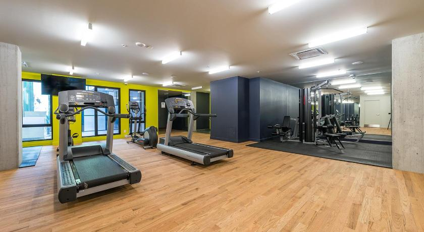 Fitness center Two Bedroom Apt Downtown Montreal