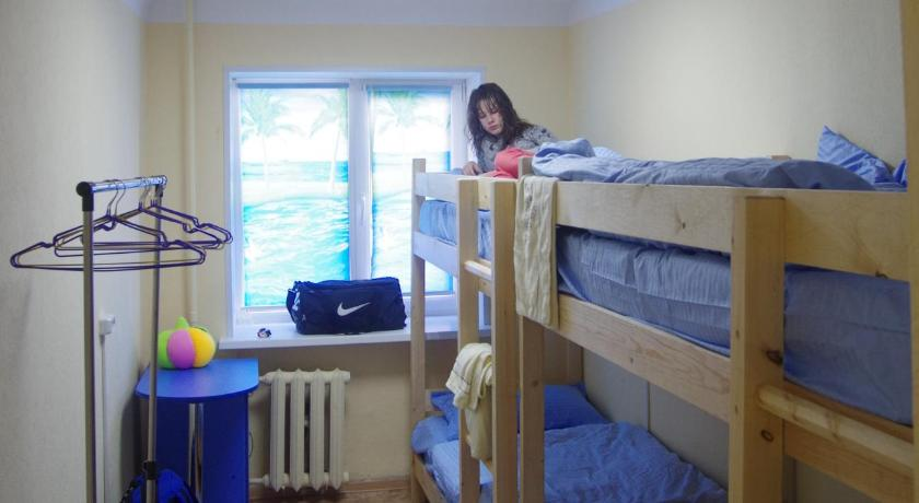 Bunk Bed in Female Dormitory Room - Guestroom Hostel Pirs