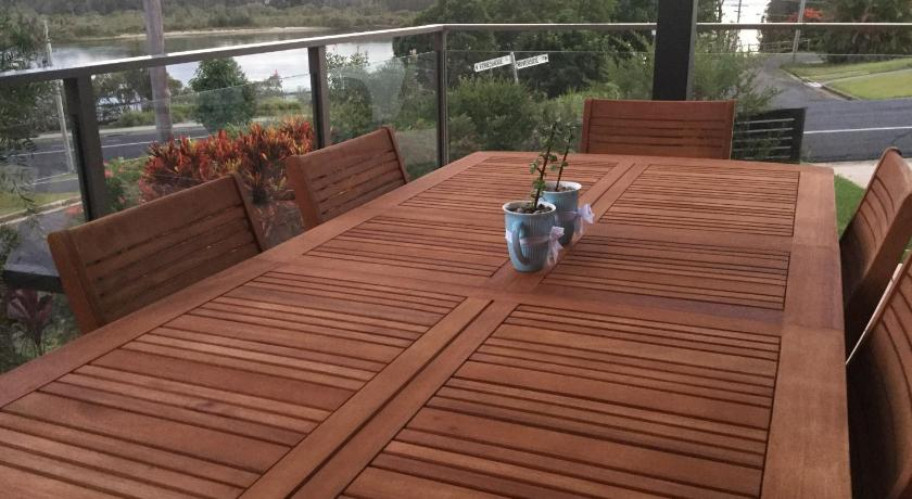 Balcony/terrace Riverside Rest Nambucca Heads