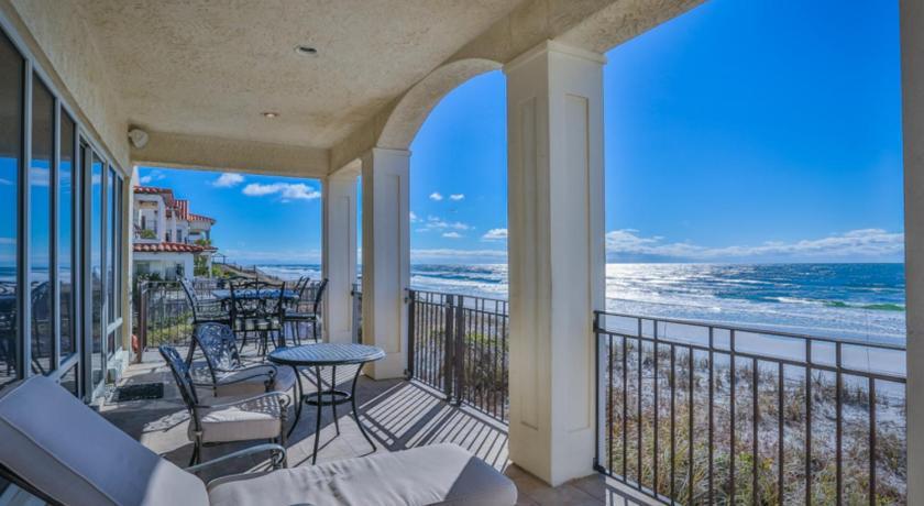 Balcony Terrace Vista Bella Del Mar Home