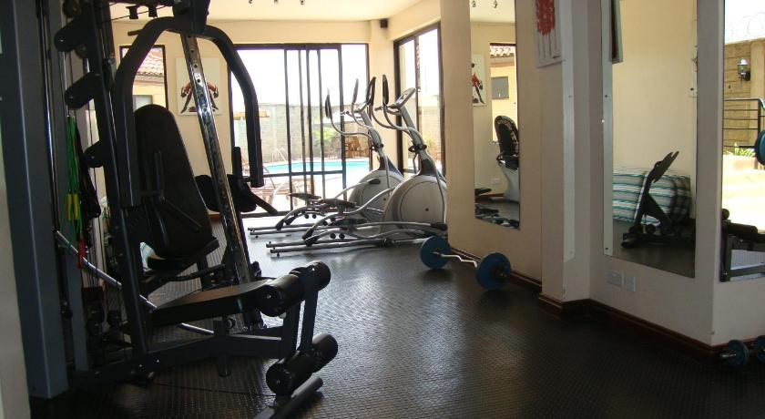 fitnesscenter Furnished apartment in Upperhill