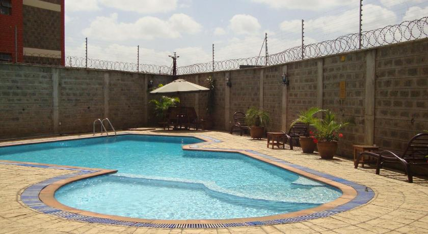 Swimmingpool Furnished apartment in Upperhill