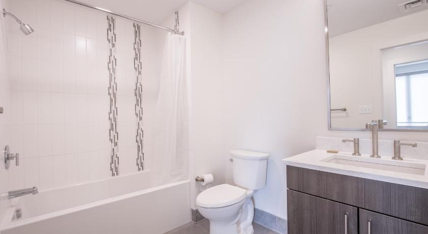 Bathroom One-Bedroom on Beacon Street Apt 204