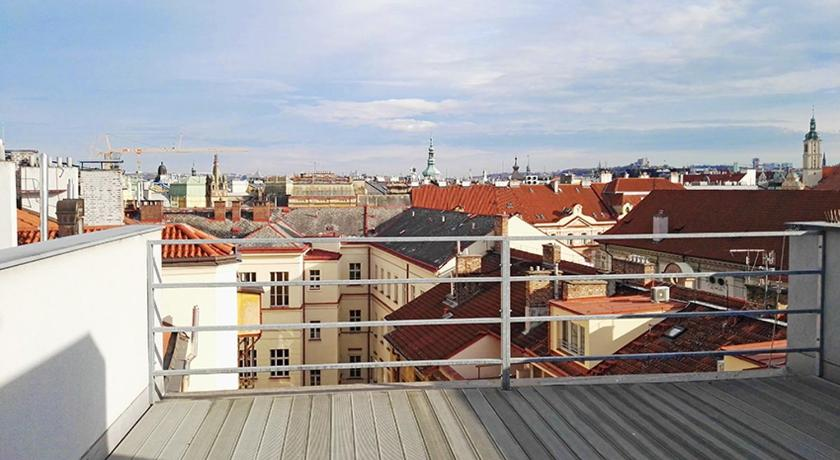Balkon/teras Prague Old Town Apartment with Terrace