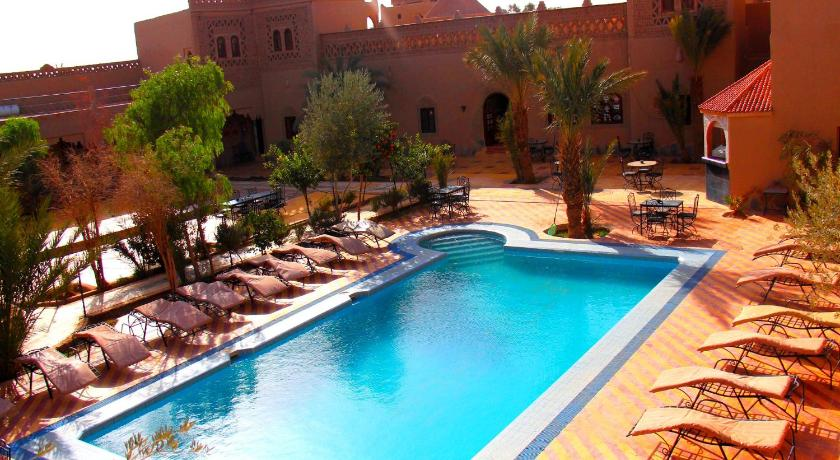 Schwimmbad Kasbah Le Touareg