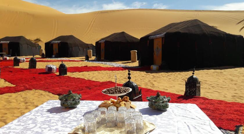 Vista exterior Dunes D'or Luxury Desert Camp