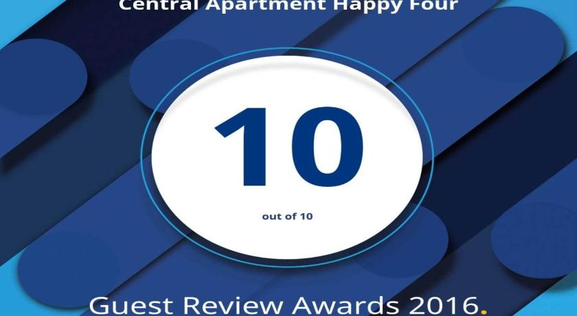 Central Apartment Happy Four