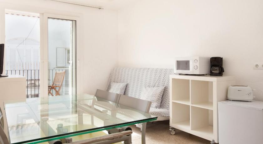 Two-Bedroom Apartment with Terrace - Separate living room Akira Flats Cadaqués Apartments