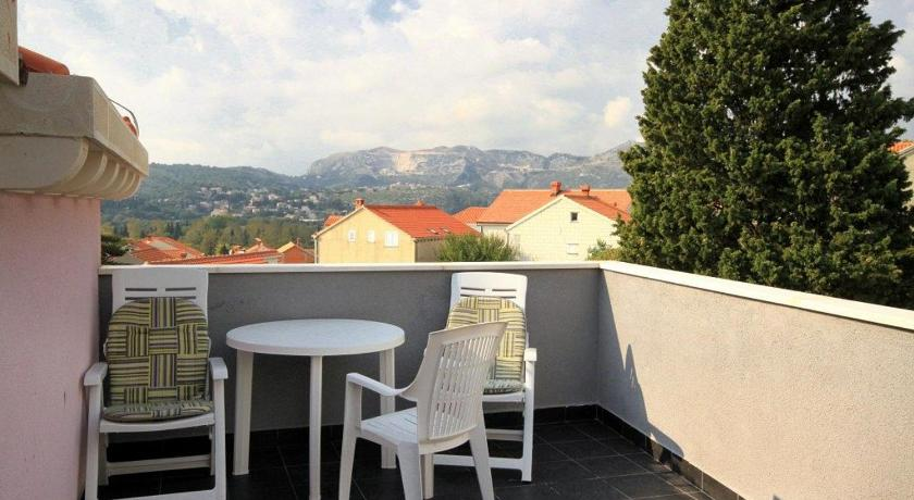 Balcony/terrace Double Room Mlini 8601e