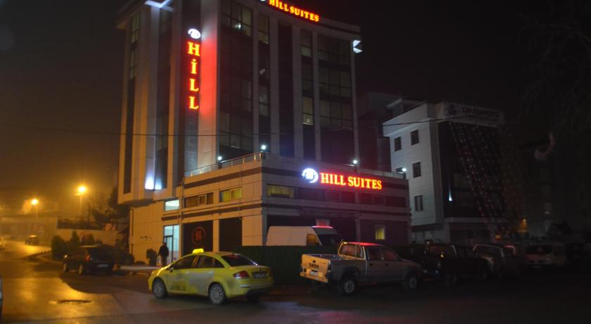 Eingang Hill Suites