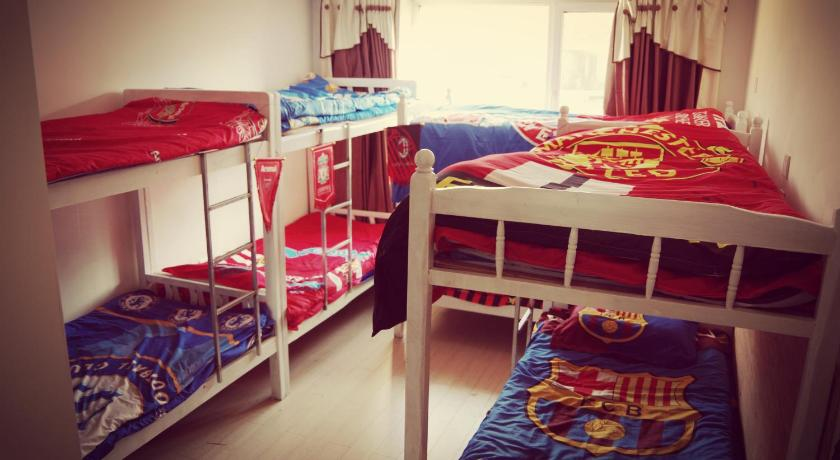Bed in 8-Bed Dormitory Room Shenyang 1995 Hostel