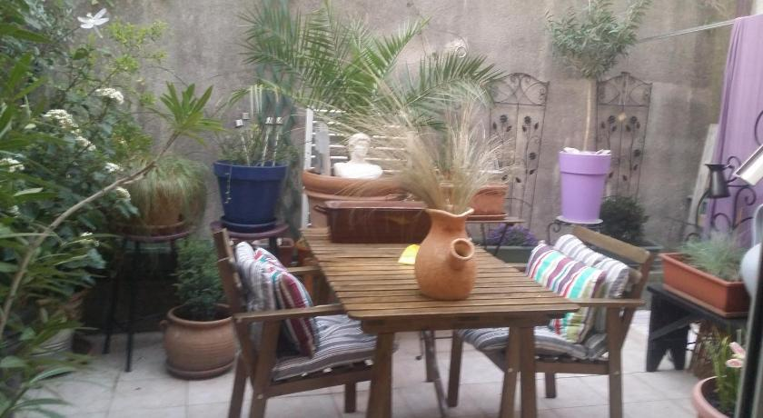 Altan/terrasse Bed and breakfast Montpellier