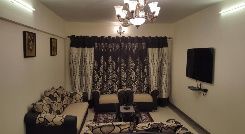 Three-Bedroom Apartment - Separate living room Poonam Heights