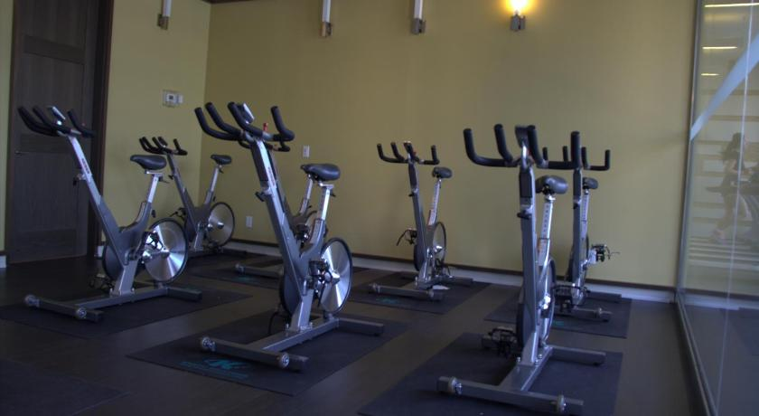 Fitness center Emerald - 1 bedroom apartment