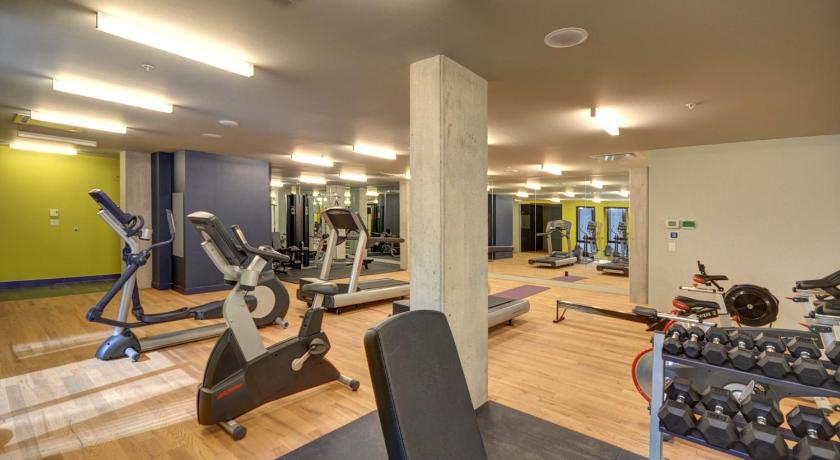 Fitness center One Bedroom Apartment - Old Montreal