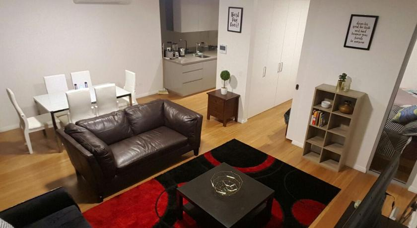 Separate living room Darling Harbour Apartment Level 9