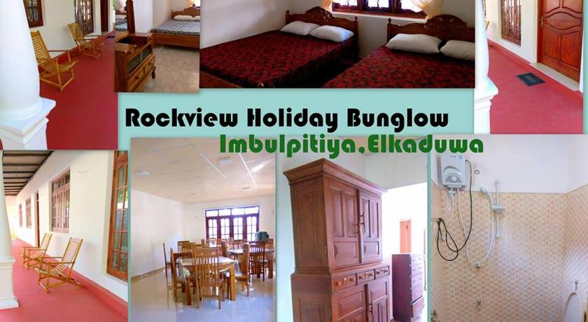 Deluxe Double Room - Entrance Rockview Holiday Bungalow