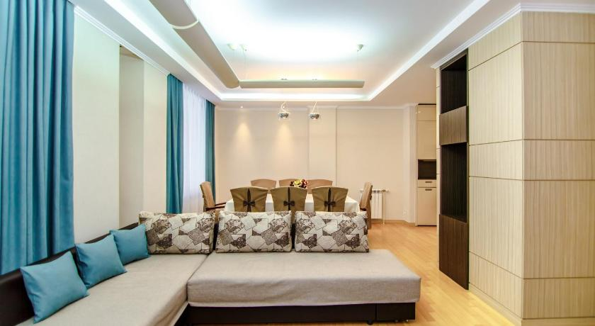 One-Bedroom Apartment - Separate living room Apartments Highvill on Akhmet Baitursynuly 1