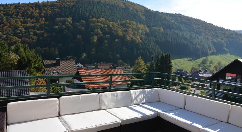 balkon/terasa Holiday home Im Harz