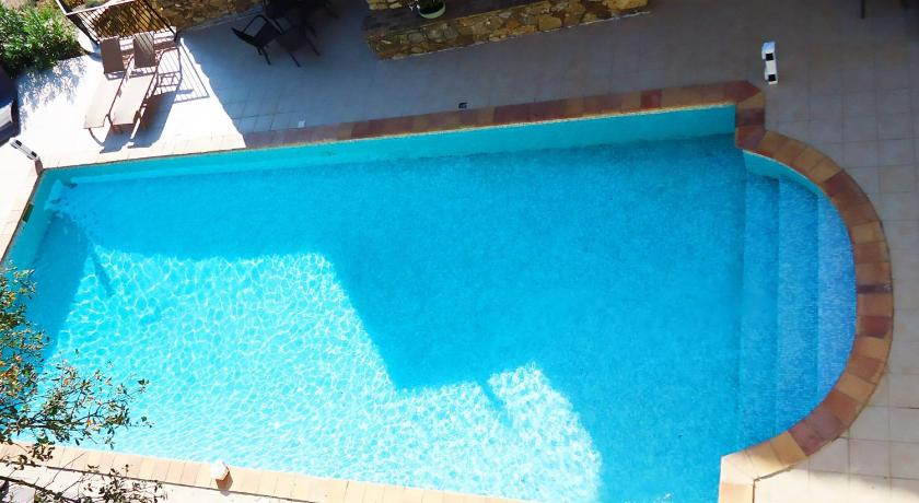 Swimming pool Appartement Claude