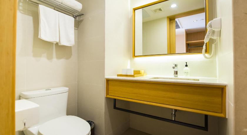 Mainland Chinese Citizens - Twin Room JI Hotel Xi'an High-tech Zone Jinye Road