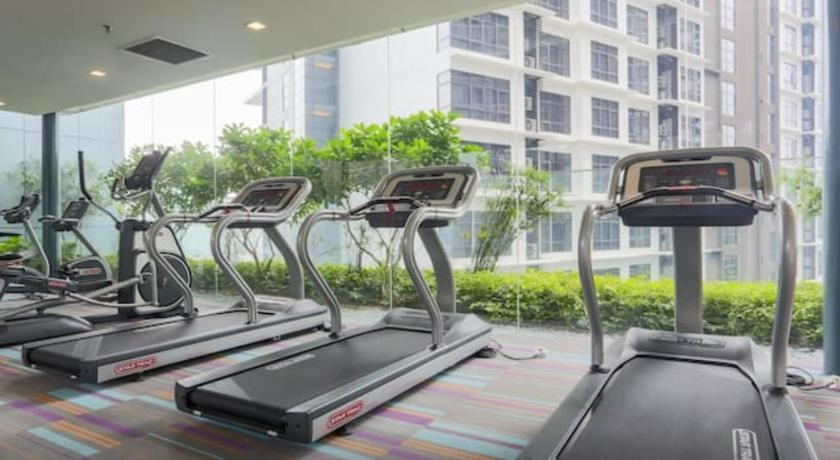 fitness centrum Summer Suites by Bee