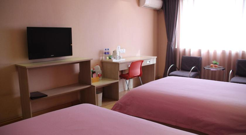 Twin Room Tai'an Luke 88 Business Hotel Dadu