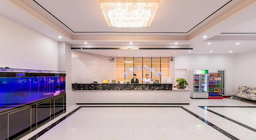 Αίθουσα υποδοχής Keju International Apartment baiyun airport branch