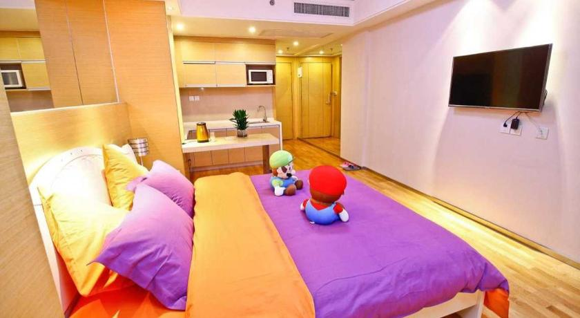 Xi'an Mario Boutique Hotel Apartment Zhonglou South Gate Ancient City Wall
