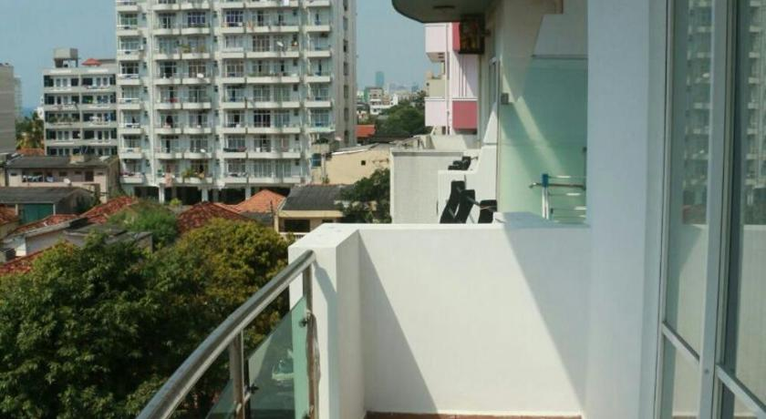 Balcony/terrace Homam Holiday Homes