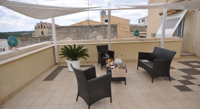 شرفة/ تراس Apartment Teatro Noto