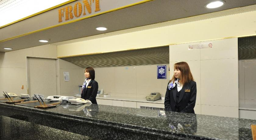 Single Room with Small Double Bed - Smoking - Αίθουσα υποδοχής Natural Hot Spring Hotel Paco Kushiro