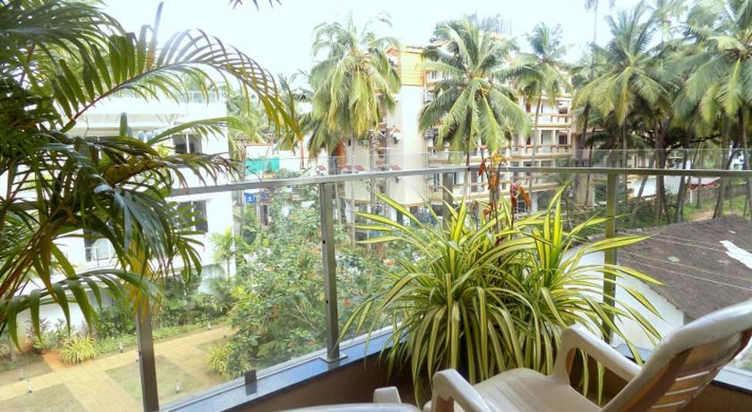 Balcony/terrace 1BHK Apartment With Balcony La Quinta: CM065