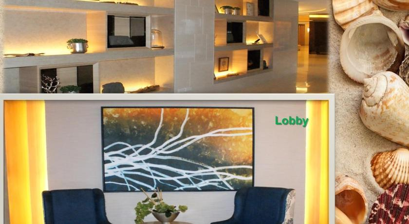Lobby Shell Residences Ocean Themed Unit