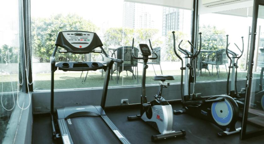 Fitness center The Viva Condo by Wanlapatch