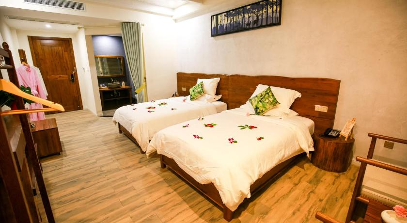 Mainland Chinese Citizens - Standard Twin Room Qianshan Yilian Guesthouse