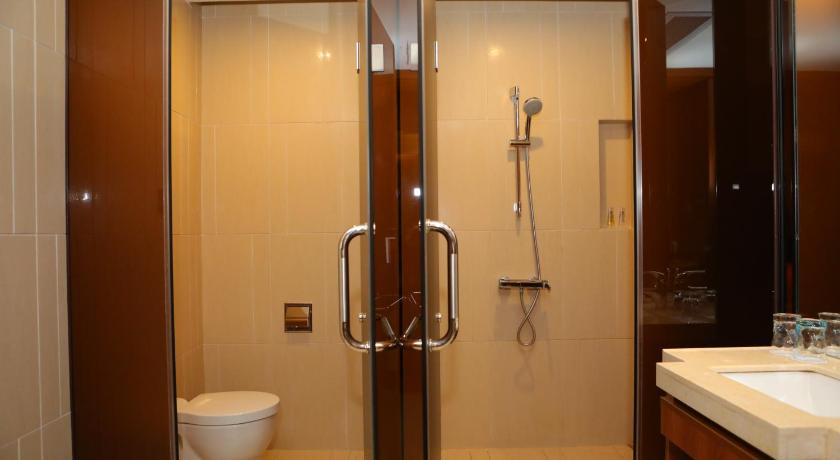 Bathroom Yi Ting Ju Hotel Guangzhou South Railway Station Panyu Chimelong Branch