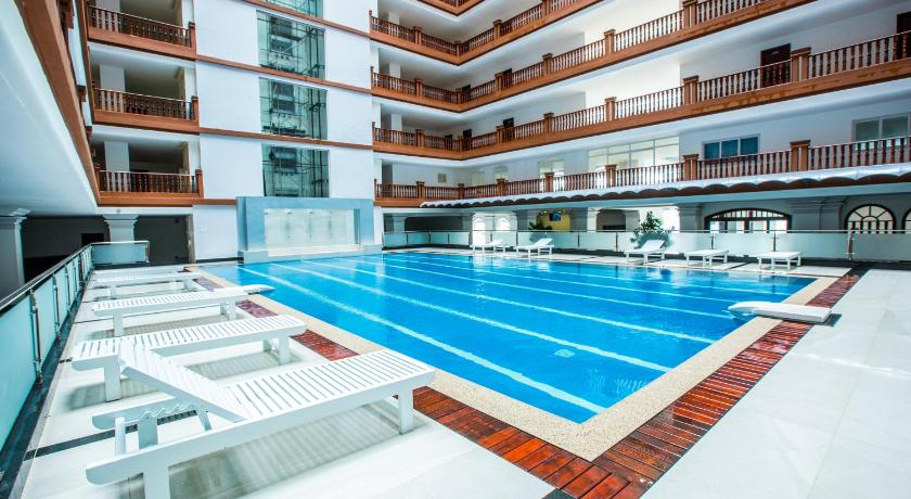 Swimming pool Mekong View Apartment & Hotel II