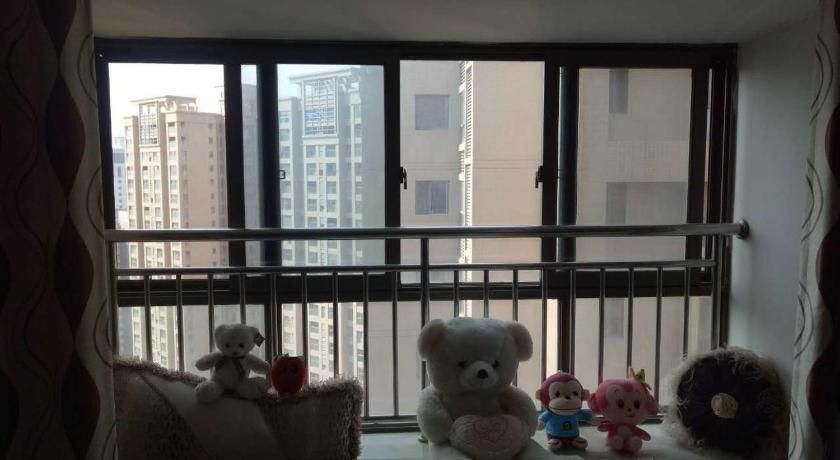 Studio s balkonem Zhen'ai Apartment