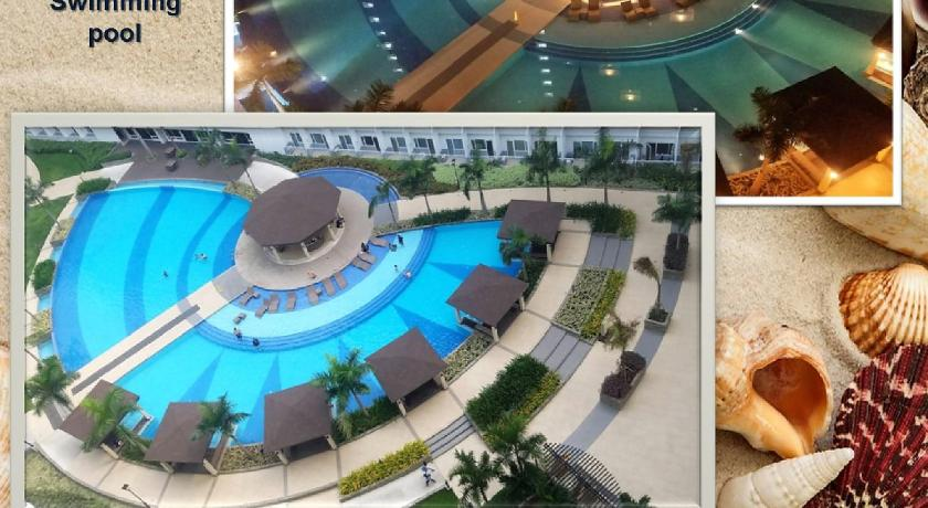 Swimming pool Shell Residences Ocean Themed Unit