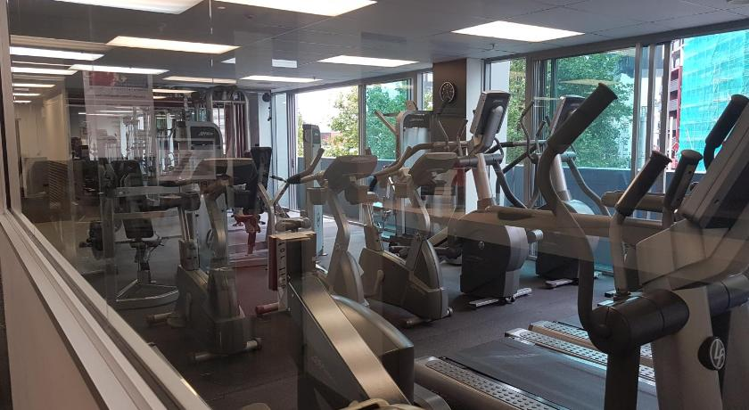 Fitness center Modern One Bedroom Apartment