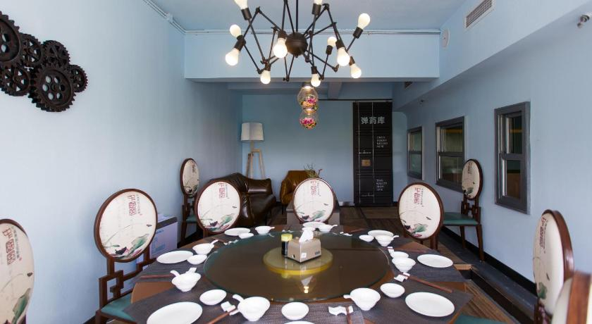Restaurace OAK International Apartment Taiyuan