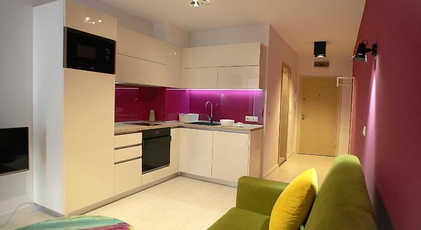 Turquoise and Magenta Apartaments