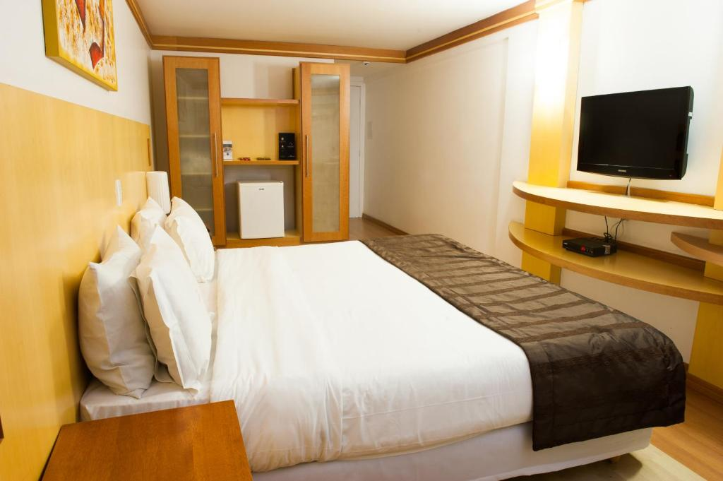 Luxury Room with Double Bed - Bed